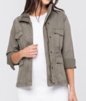 Army Denim Judy Blue Jacket