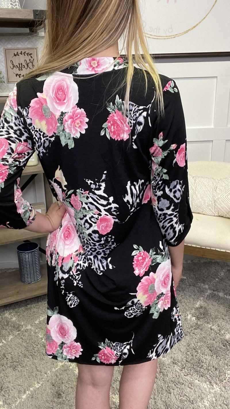 Looking Lovely Honeyme Gabby Dress