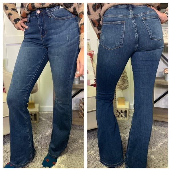 High Rise Flare Judy Blue Jeans