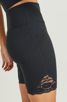 Loving Lace Biker Shorts