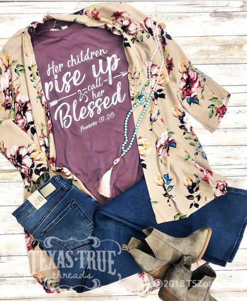 Call Her Blessed Graphic Tee