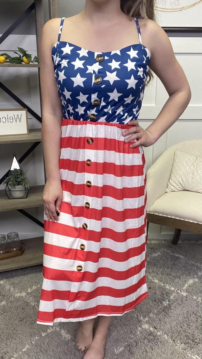 Sugar Sugar Patriotic Dress