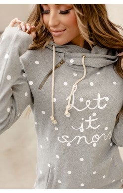 Let It Snow Doublehood Sweatshirt