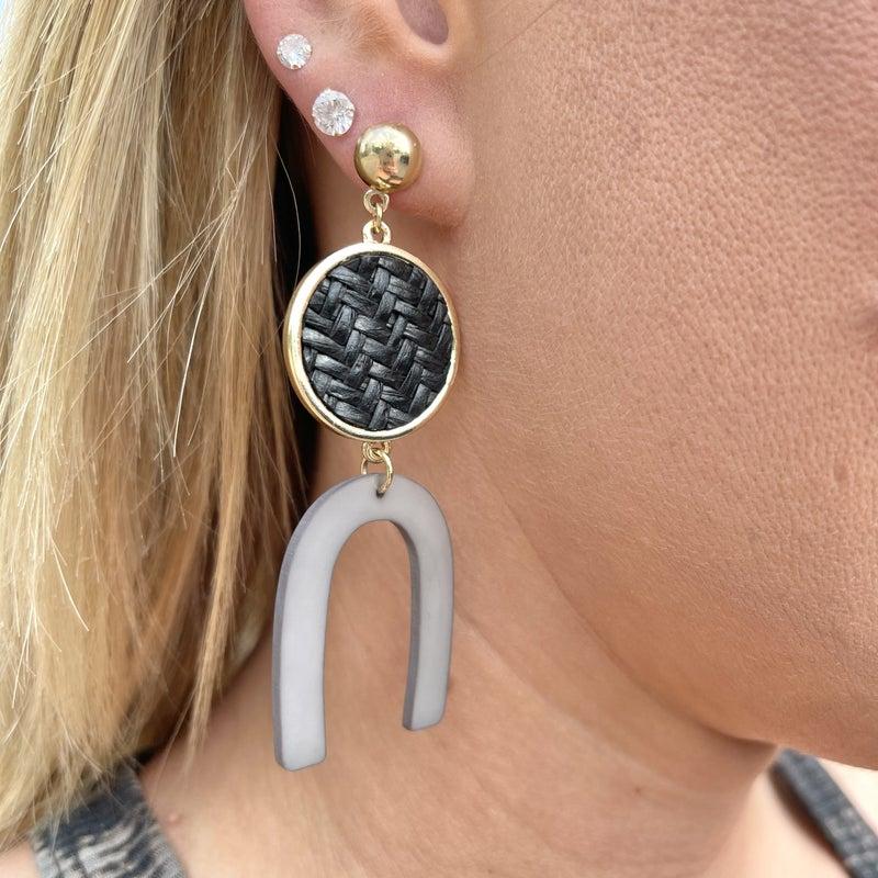 Rustic Queen Earrings - 2 colors!