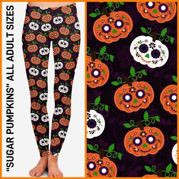 Sugar Pumpkins Leggings