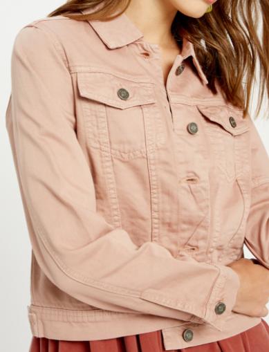 Uptown Girl Rose Jacket