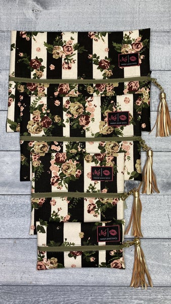 Roses of Love Makeup Junkie Bags