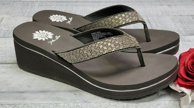 Right About Now Yellow Sandals