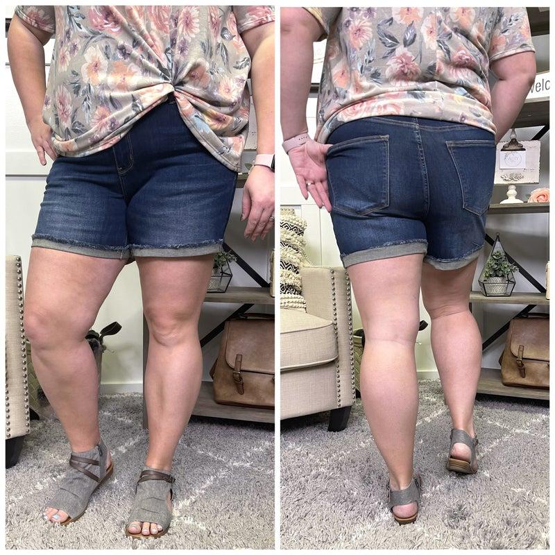 Julia Dark Judy Blue Shorts