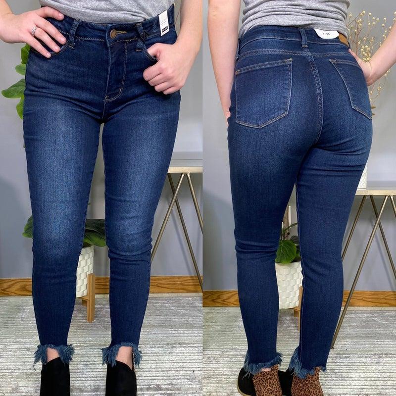 Dark Wash High Rise Judy Blue Jeans