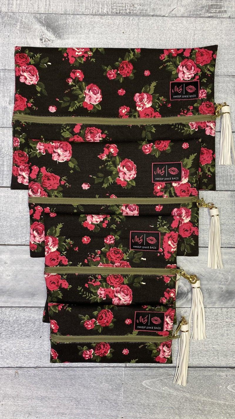 My Love is Pink Makeup Junkie Bags