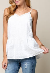 Single You Up Tank - 2 colors!