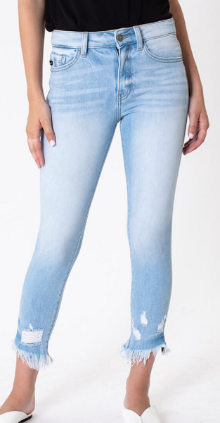 Light Denim High Rise KanCan Jeans