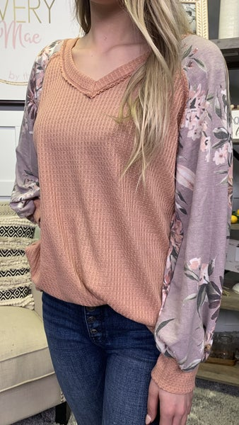 Fields of Lavender Top