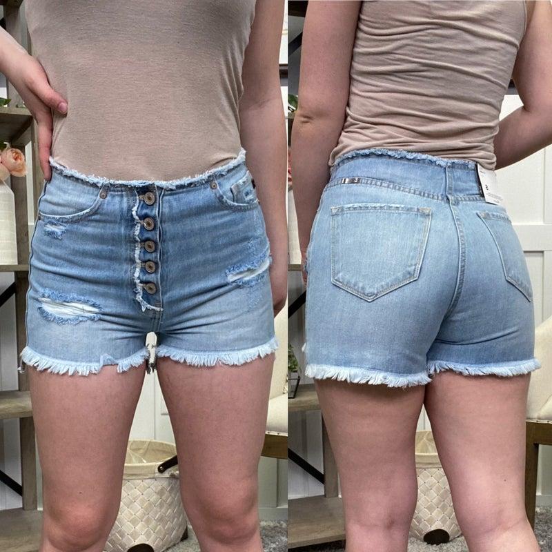Whitney High Rise KanCan Shorts