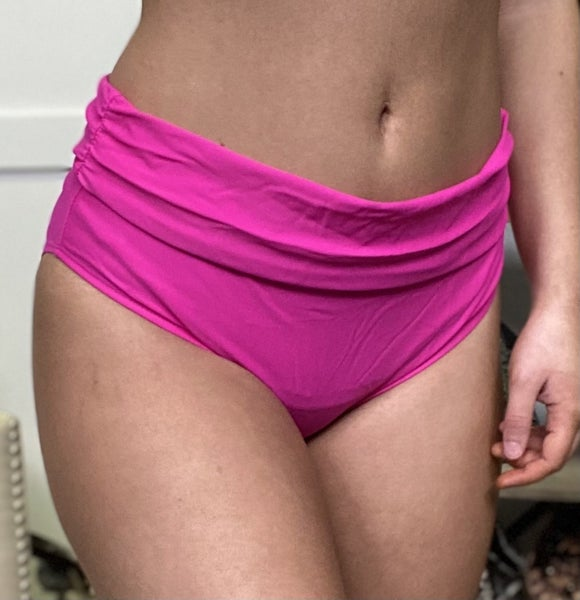 Pink Circus Time Swim Bottoms