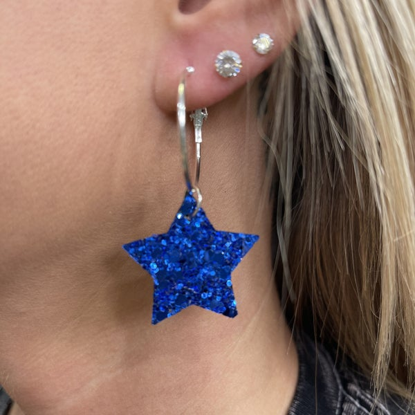 The Star You Are Earrings - 2 colors!