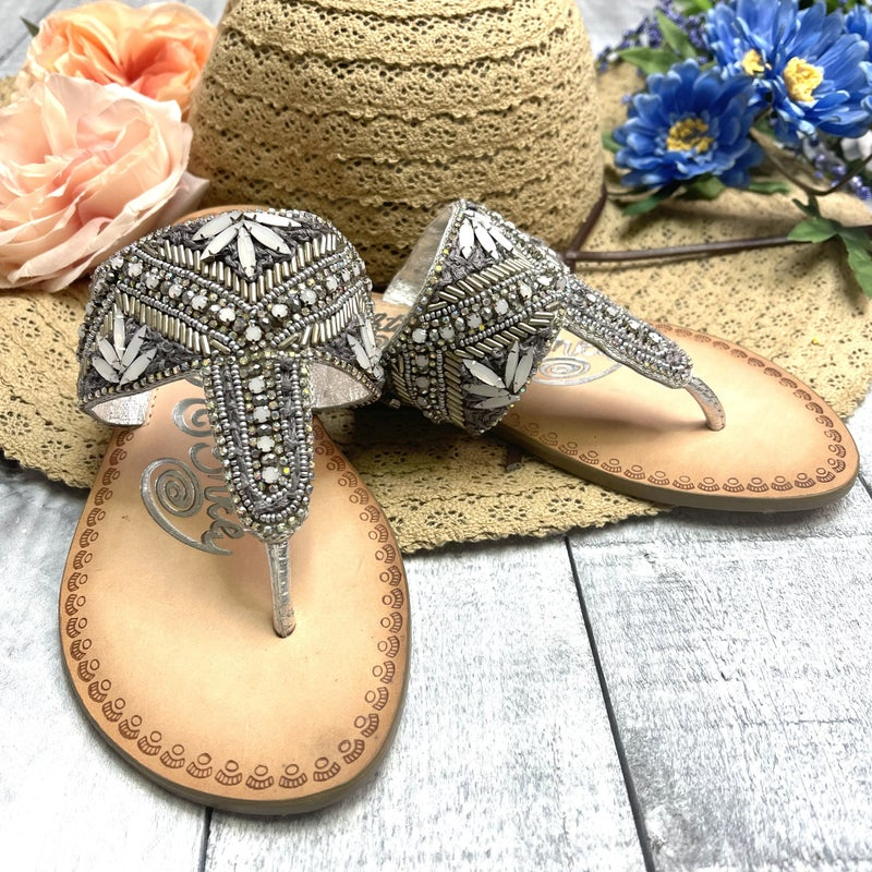 Simply Elegance  Not Rated Sandal