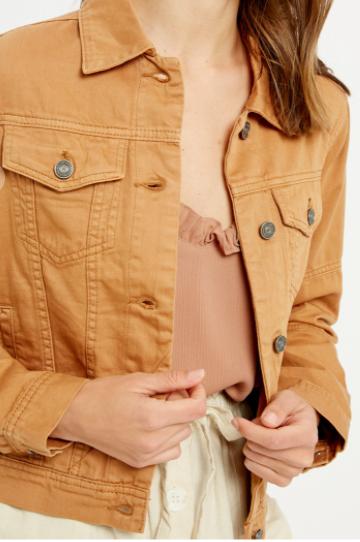 Uptown Girl Camel Jacket