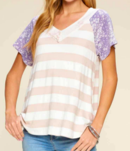 Spring Morning Top - 2 colors!