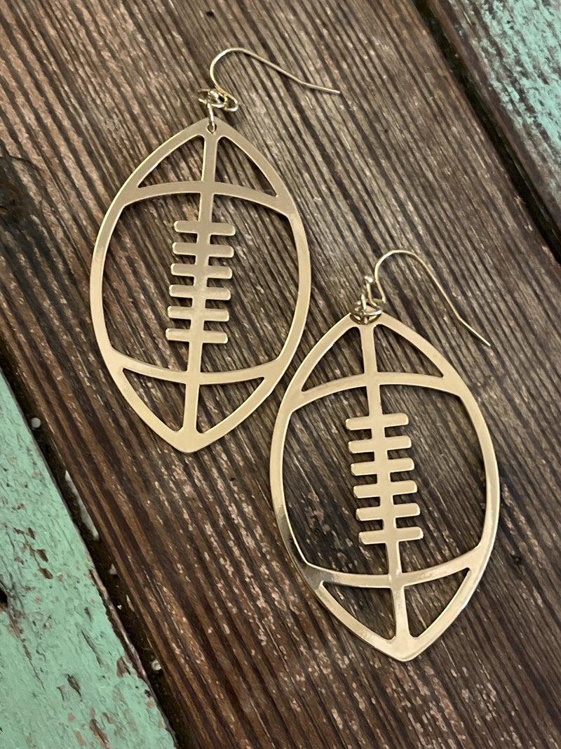 Football Earrings