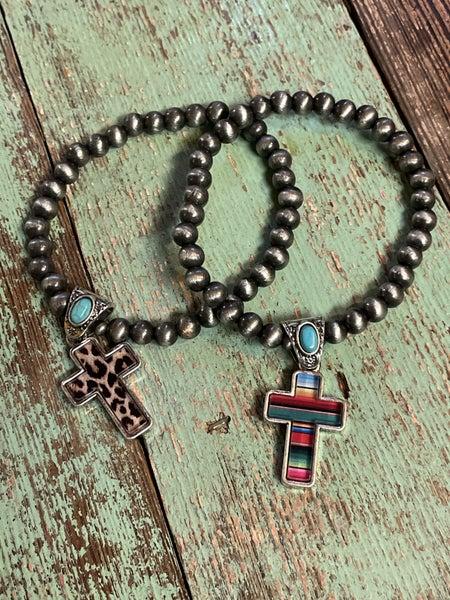 Cross Charm Bracelets