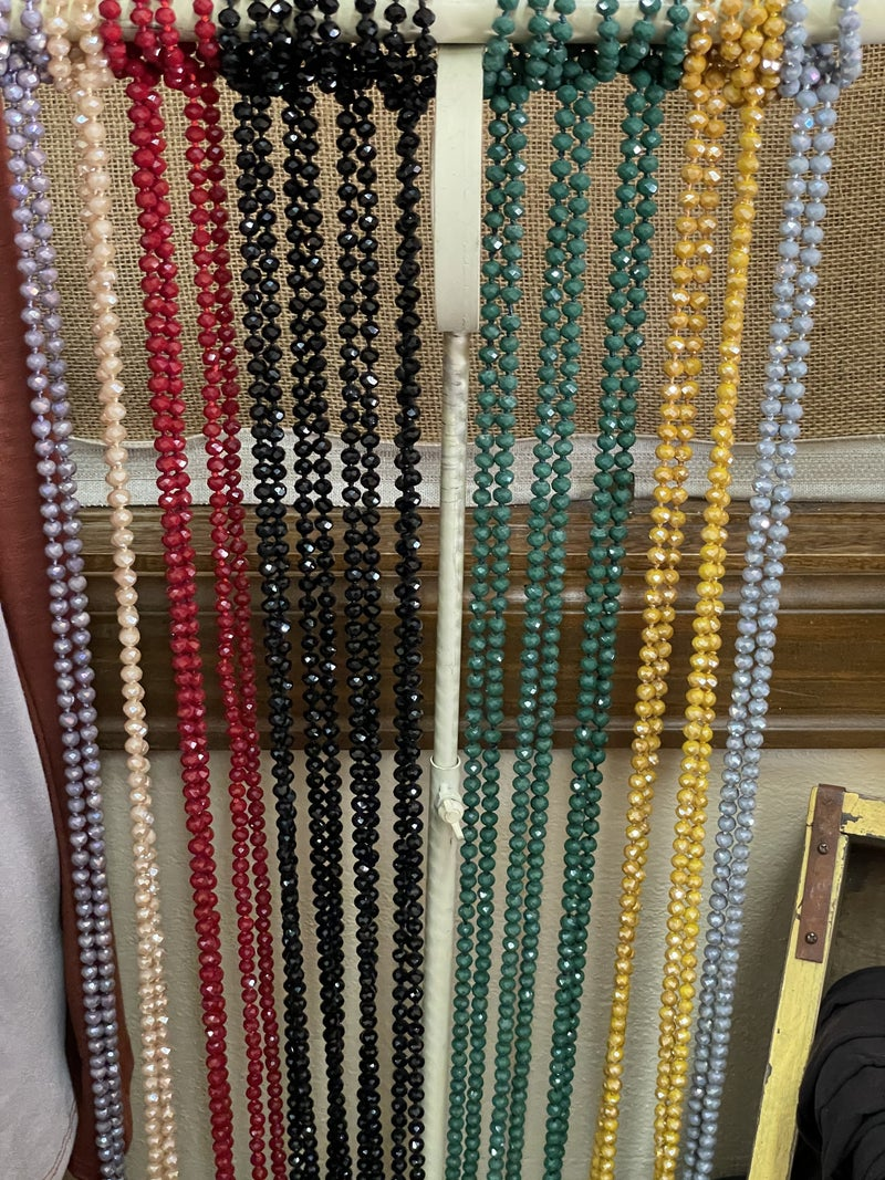 The 60 inch Bead Necklace