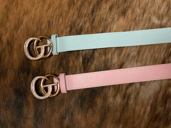 Inspiring Pastel Belts - One Size