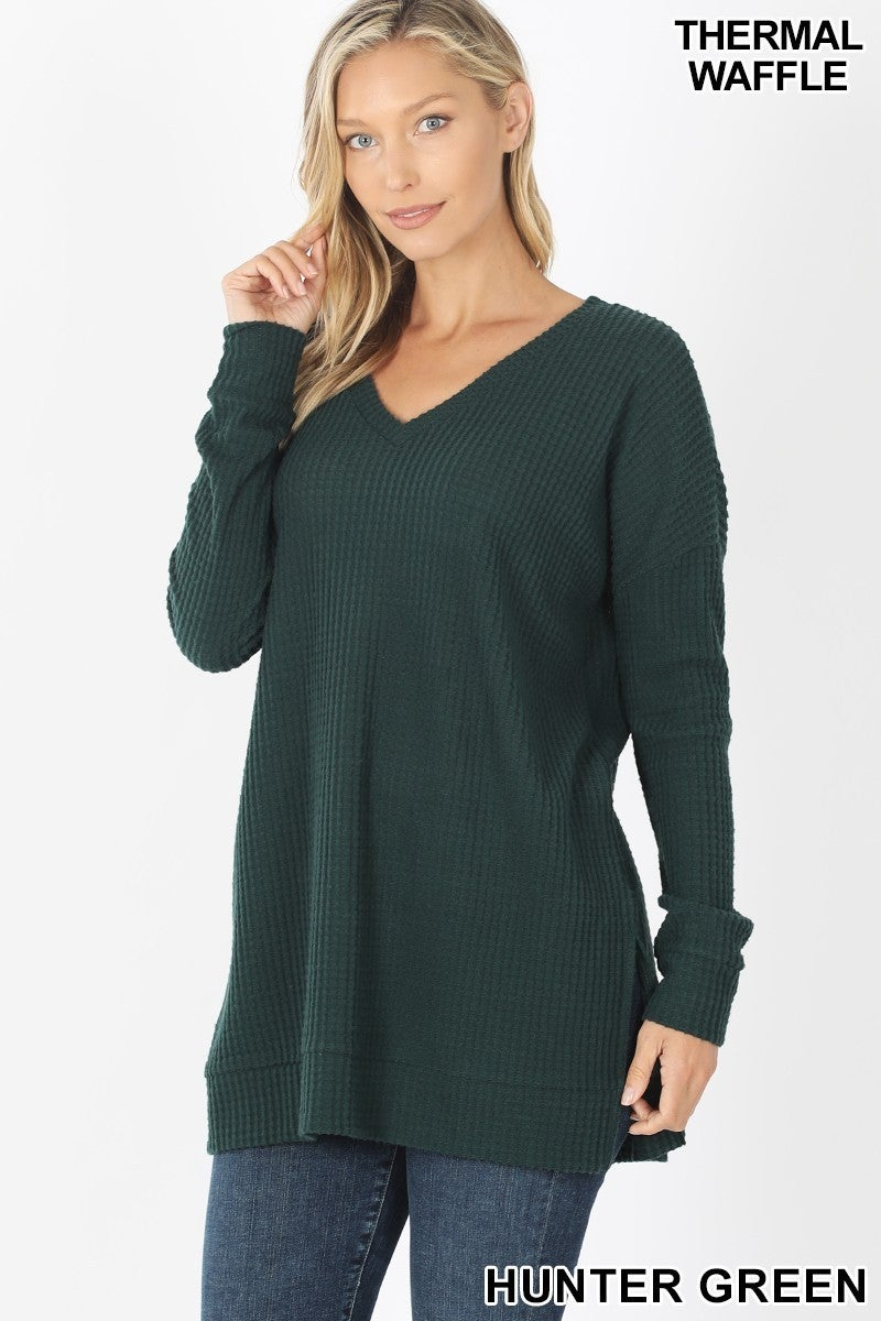 The Hunt is Over Brushed Thermal Sweater