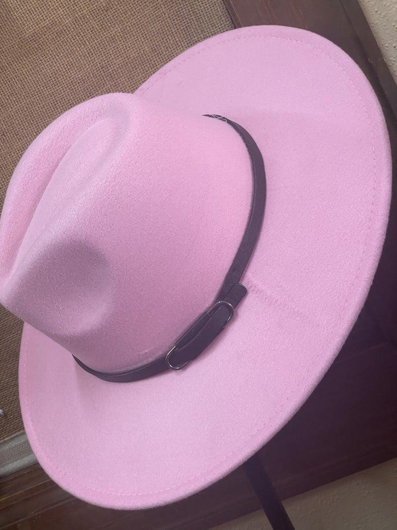 The Pink Lady Felt Hat