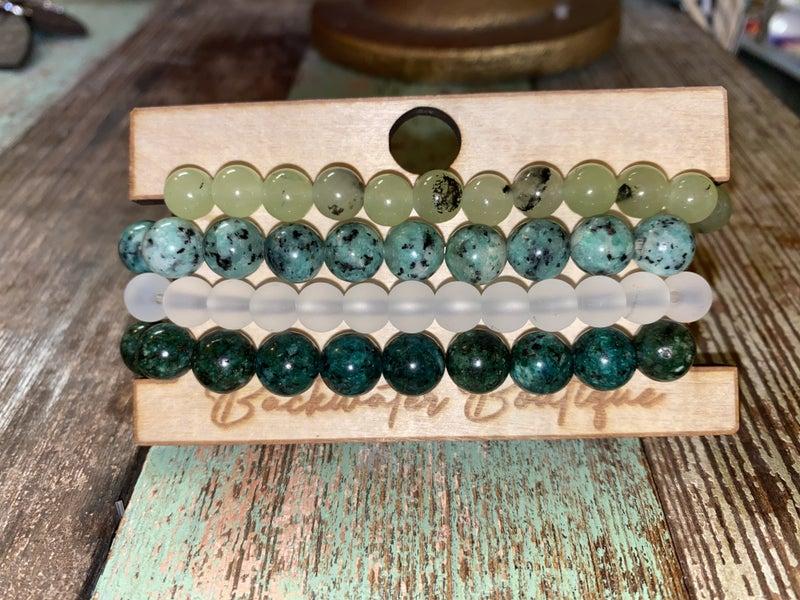 B3 Jade Stone Stack