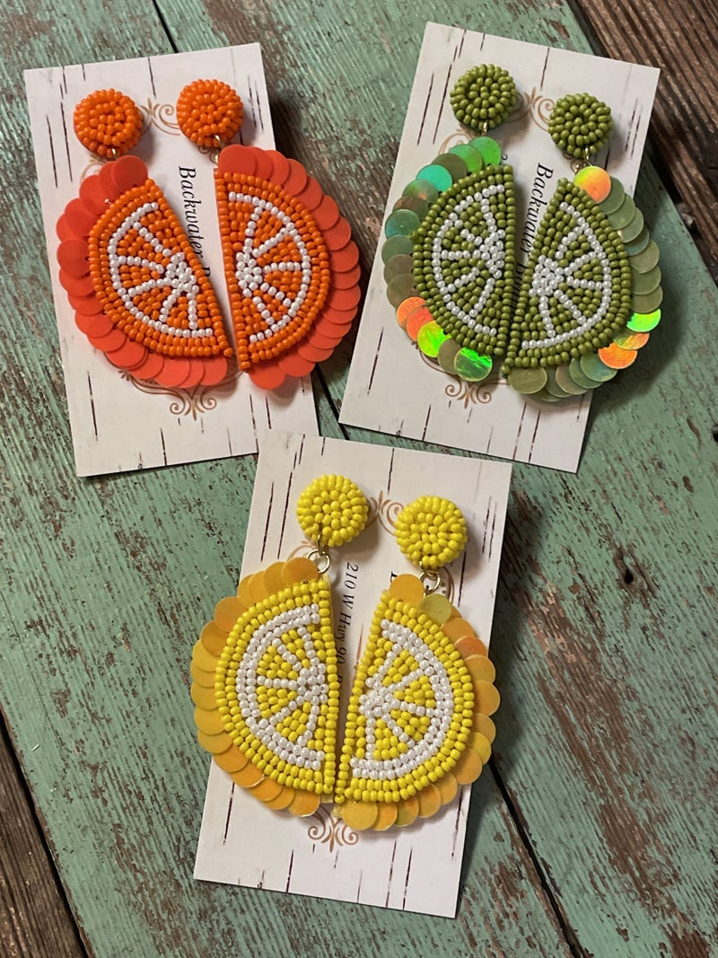 Daily Dose of Citrus Earrings