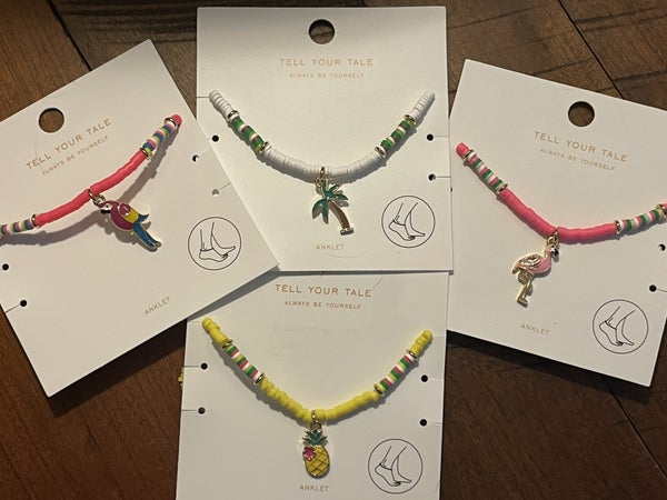 Summer Fun Anklets