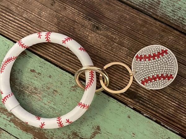 Sporty O ring Keychain