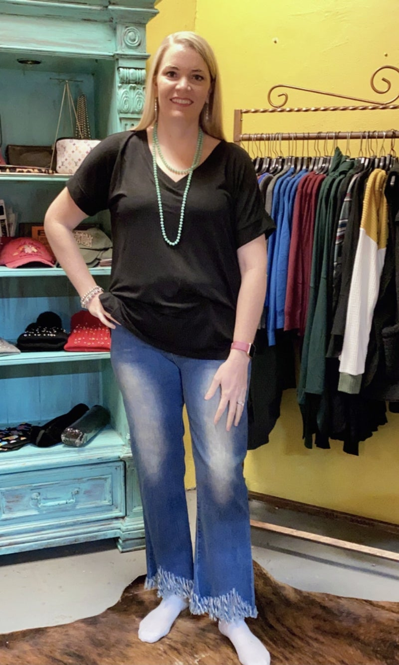 So Fun jeans in curvy