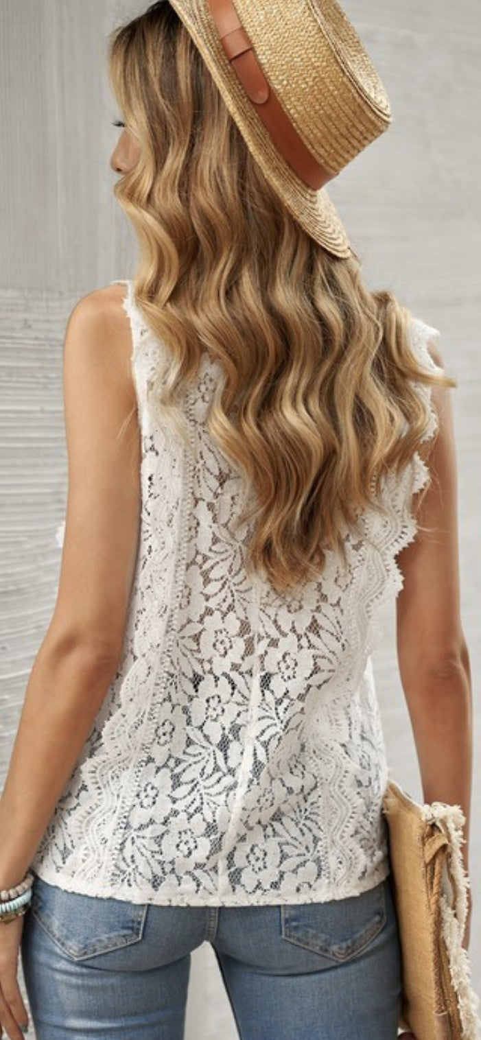 Lily Lace Top