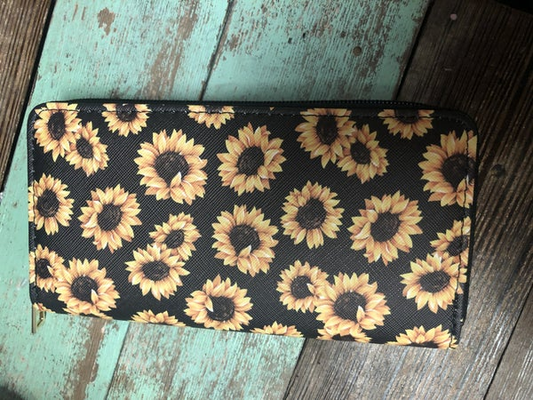 Sunflower Wallet