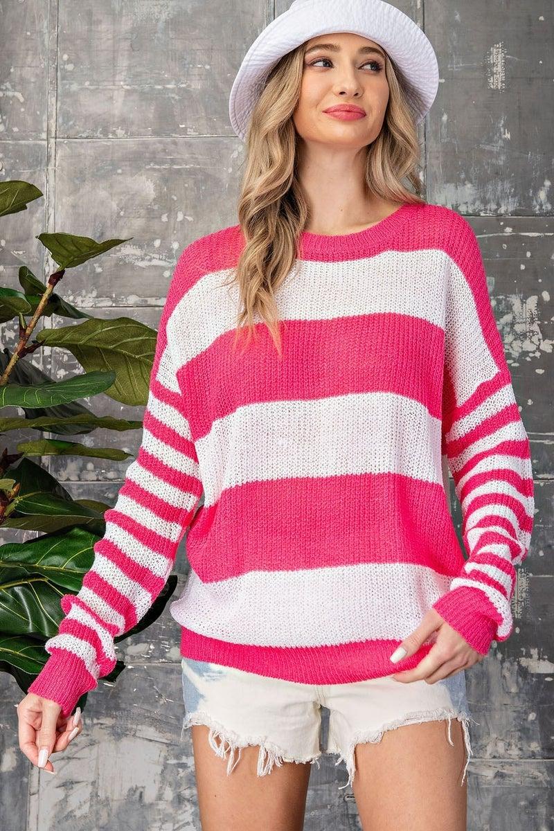 Cheery Lightweight Sweater