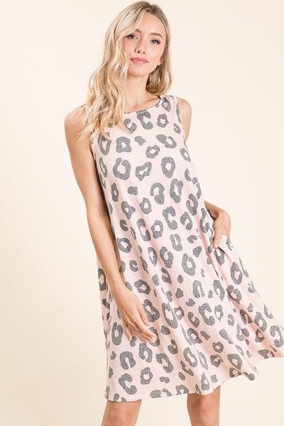 Lenzie Leopard Dress