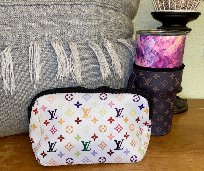 Inspired makeup bags
