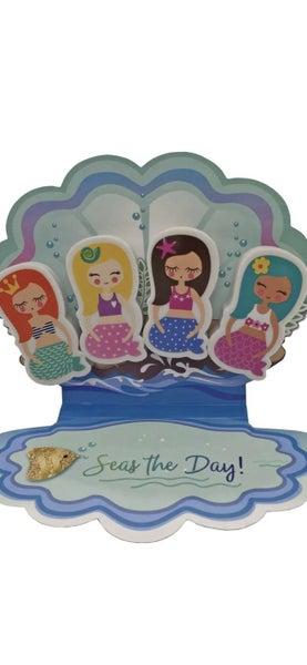 Mermaid Eraser Set