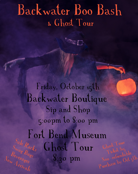 Oct 15 Ghost Tour