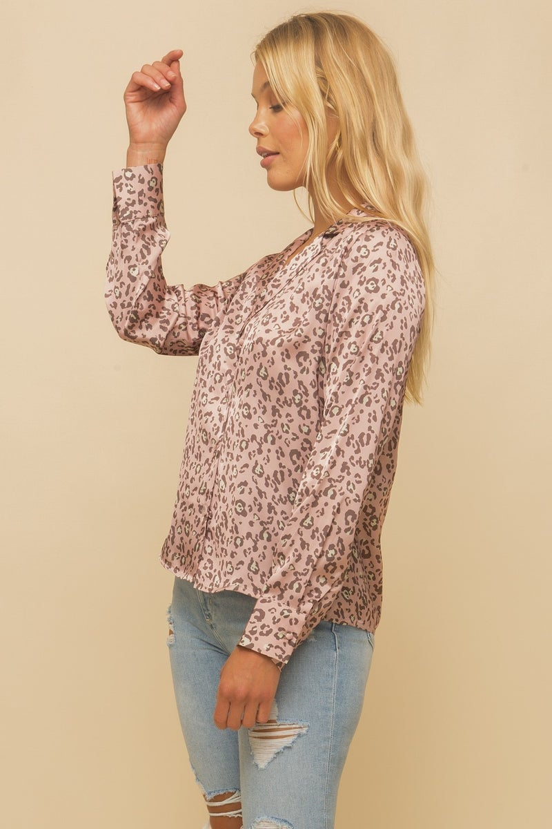 Sassy Satin Shirt