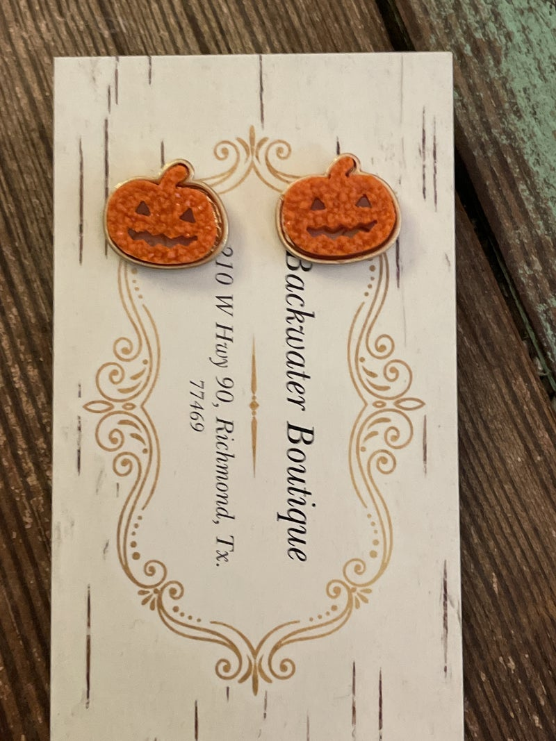 Pumpkin Studs
