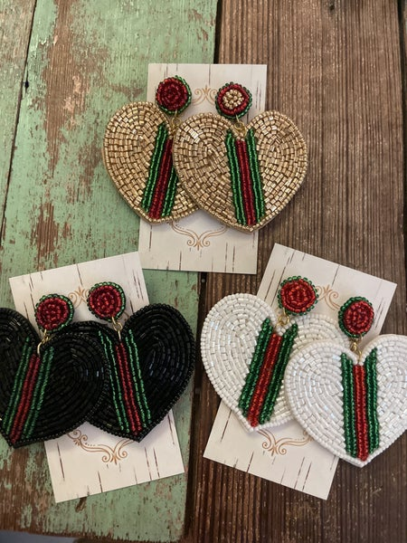 Heart Inspired Earrings