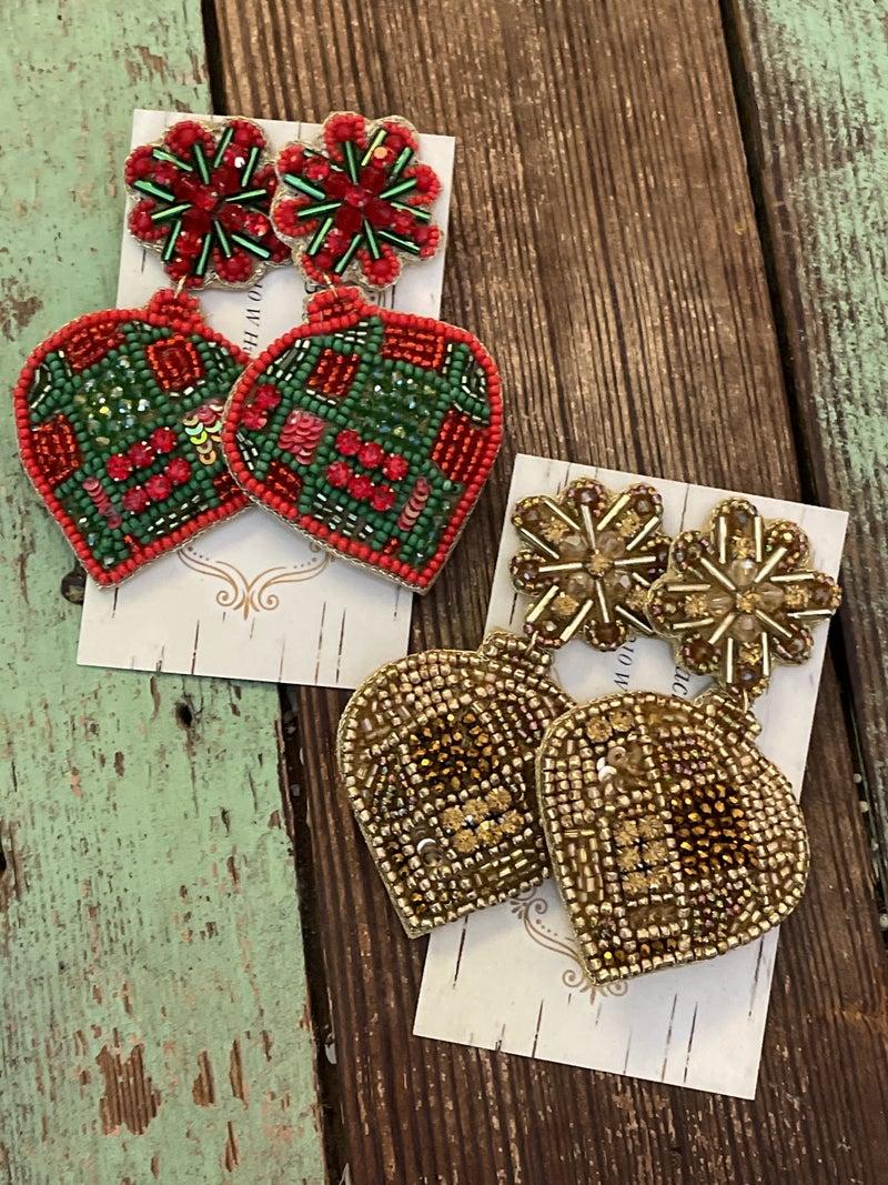 Vintage Christmas Earrings