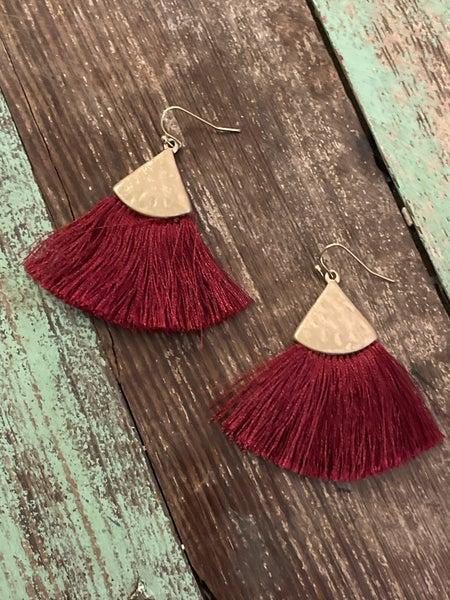 Jewel Tone Earrings