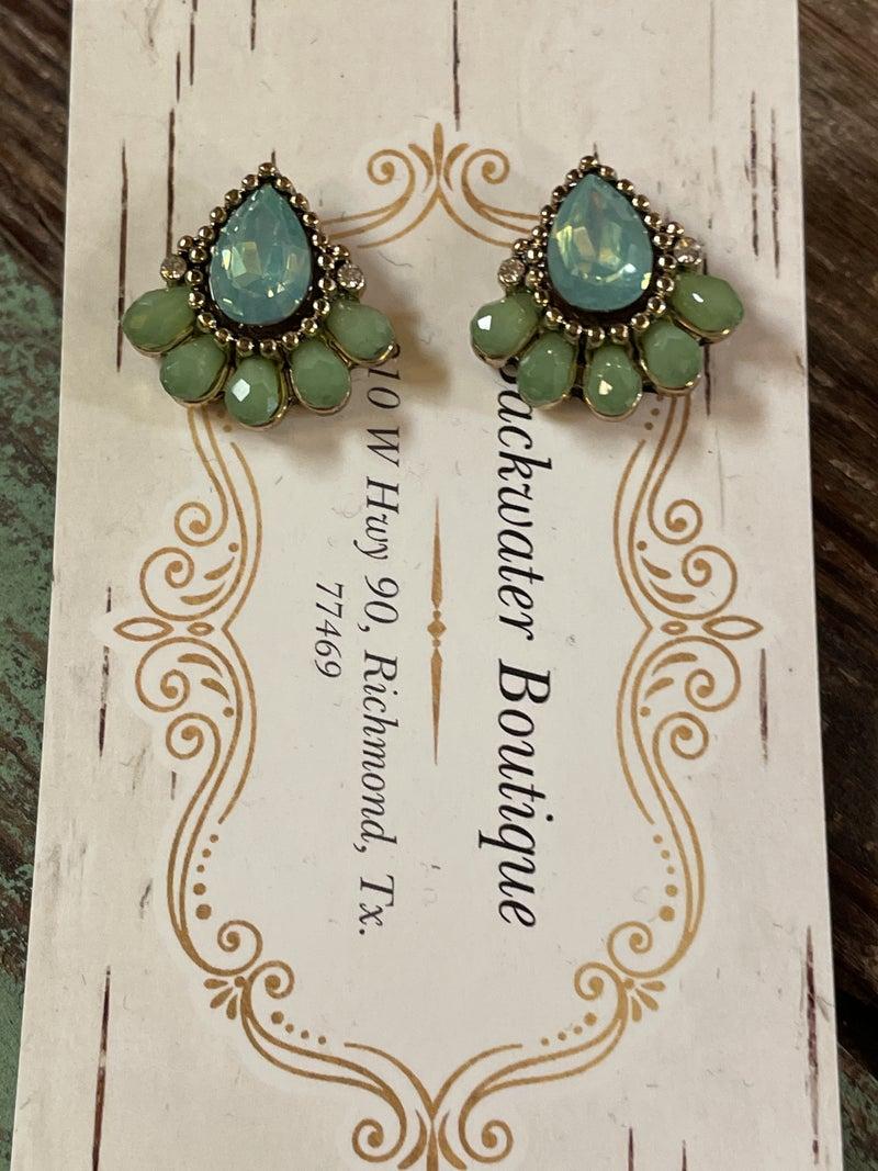 Victoria Stud Earrings