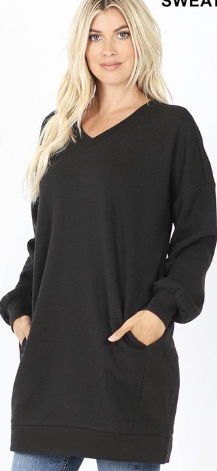 Lovin The Long Sweatshirt