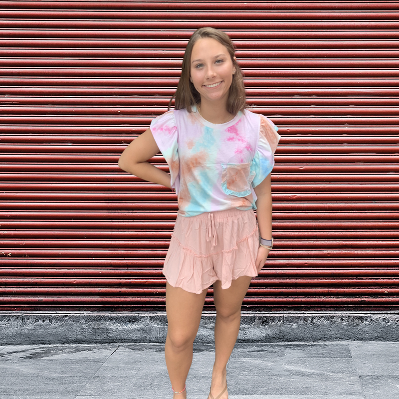 Kaye Ruffle Shorts